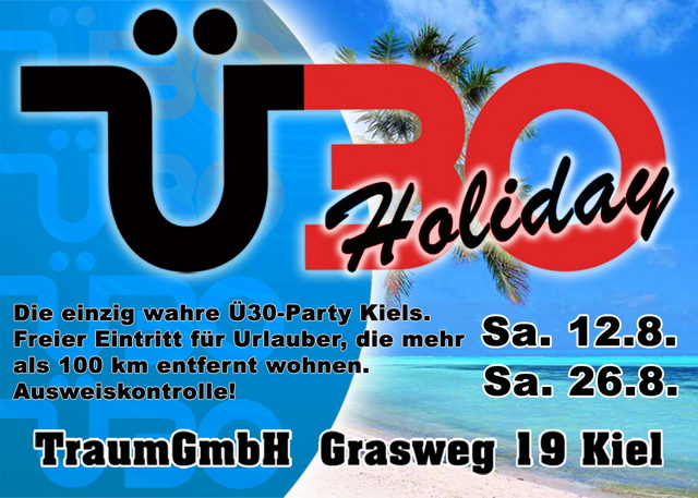 Ü30 Holiday