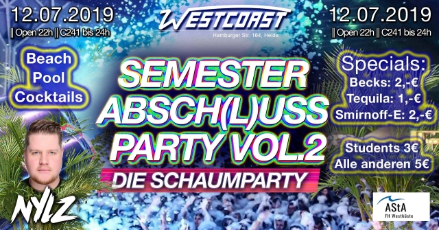Semester Absch(l)uss Party vol.2