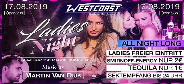 Ladies Night with Martin van Dijk